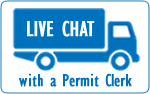 Chat with a Permit Clerk Online